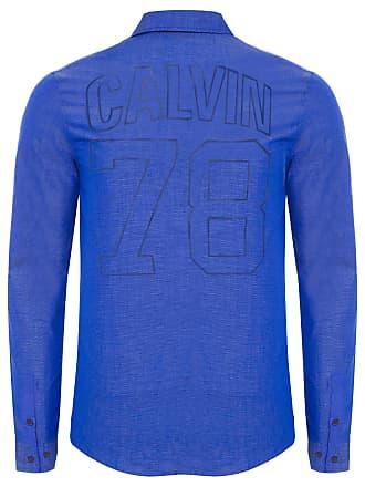 Calvin Klein CAMISA MASCULINA CALVIN 78 - AZUL