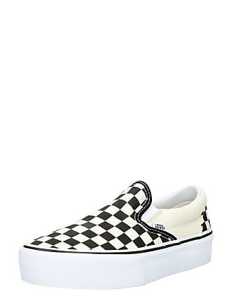 847fa253d54 Vans Dames Classic Slip on Checkerboard Beige