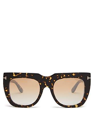 04ce9fe425 Tom Ford Eyewear Lunettes de soleil effet écaille de tortue Thea