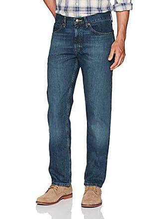 Lee Mens Regular Fit Straight Leg Jean, Silo, 33W x 29L
