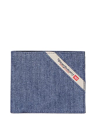 a5747be38a Diesel MENS X05268PS778H3820BLU BLUE LEATHER WALLET