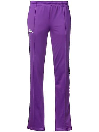 Kappa logo track pants - Purple