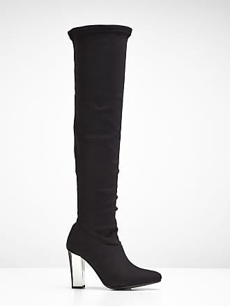 b4db60905228c8 BODYFLIRT boutique Overknee Stiefel in schwarz von bonprix