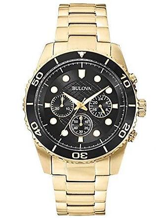 Bulova Relógio Masculino Bulova Marine Star WB31989U - Dourado