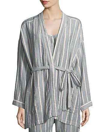 Xirena Ryder Striped Cotton Robe