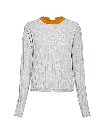 Derek Lam Bicolor Open Back Sweater Grey/yellow