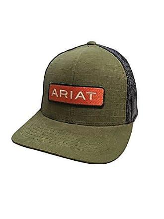 8ed873fce62 Ariat Mens Center Name Patch Mesh Cap