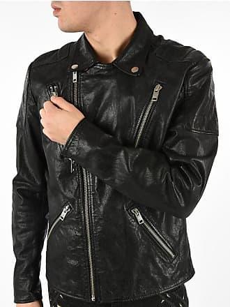 Diesel Leather R-PUSMIR Jacket Größe Xxl