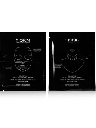111Skin Celestial Black Diamond Lifting And Firming Mask, 4 X 74ml - Colorless