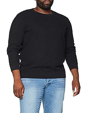 0247fe1f8efff9 Jack   Jones Herren Pullover JPRTHOMAS Knit Crew Neck PS Schwarz Black