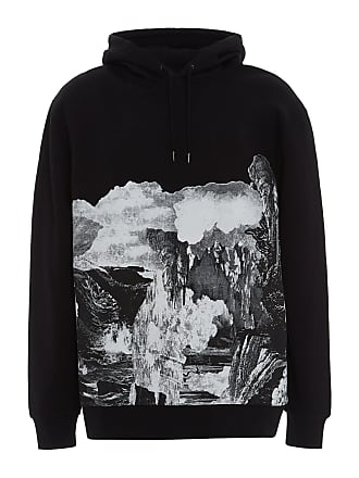 Burberry Printed Cotton-Blend Hoodie