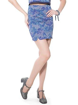 Lucy in the Sky Mini saia recortes indigo P