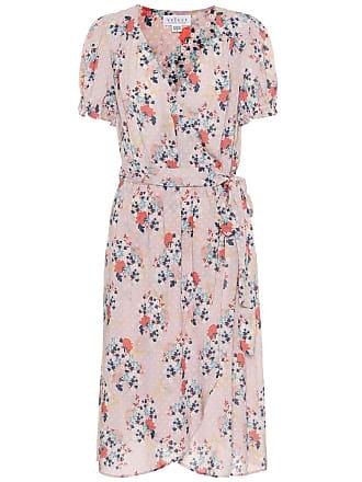 Velvet Meadow floral midi dress
