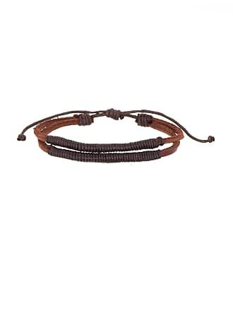 Nordstrom Rack Thread Wrapped Leather Bracelet