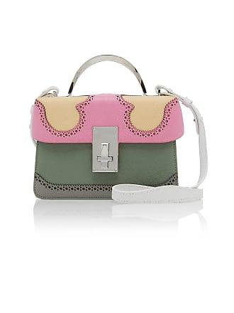 The Volon Data Alice Color Block Leather Bag