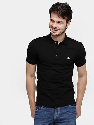 0e26b97f352 Lacoste Camisa Polo Lacoste Piquet Slim Masculina - Masculino