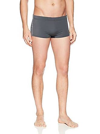 bfe8ffddb16 Emporio Armani EA7 Mens Sea World Swimwear Premium Trunks, Anthracite, Small