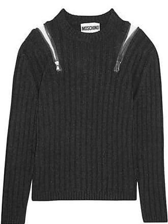 Moschino Moschino Woman Medium Knit Charcoal Size 44