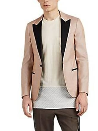 d97e0cadad8 Lanvin Mens Metallic-Knit One-Button Tuxedo Jacket - Pink Size 50 EU