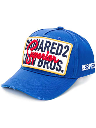 Dsquared2 Caten Bros baseball cap - Azul