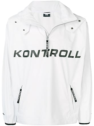 Kappa Kontroll nylon sports sweater - White