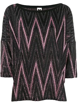 M Missoni metallic knitted top - Rosa