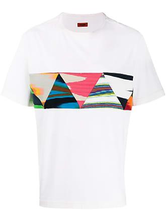 Missoni Camiseta com patchwork - Branco