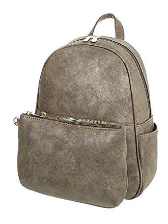 2507b4343b585 Ital-Design iTal-dEsiGn Damen-Tasche Kleine Rucksack In Used Optik Mit Extra