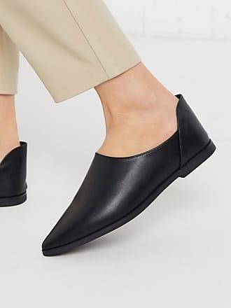 Ichi Drop Back - Flache Schuhe-Schwarz