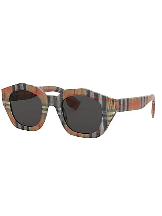 a4e7feb7aa32c Acetate Shield Sunglasses w  Logo Print Lens. Delivery  Delivery costs  apply. Burberry Check Print Acetate Square Sunglasses