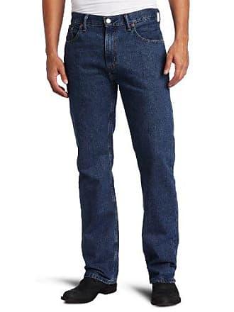 Levi's Mens Big and Tall 505 Big & Tall Regular Fit Jean, Dark Stonewash, 38x36