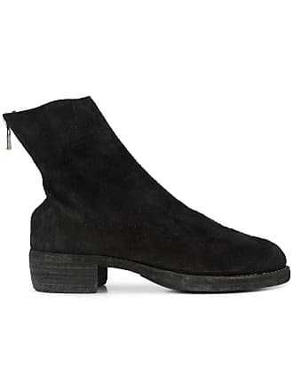 Guidi zipped ankle boots - Preto