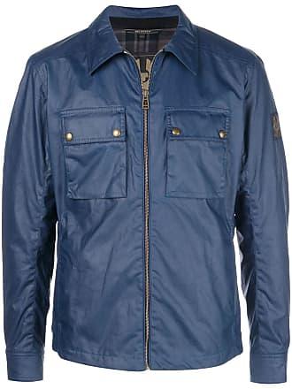 Belstaff zip lightweight jacket - Azul