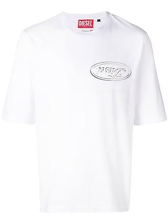 Diesel Camiseta ampla - Branco