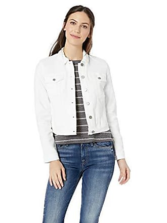 William Rast Womens Lenna Denim Jean Jacket, White Small