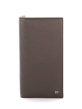 Tom Ford Wallet YO188P leather brown embossed
