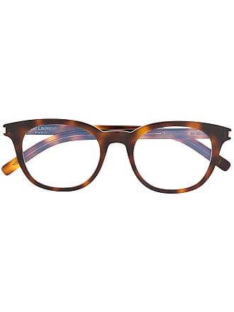 Saint Laurent Eyewear Armação de óculos - Marrom
