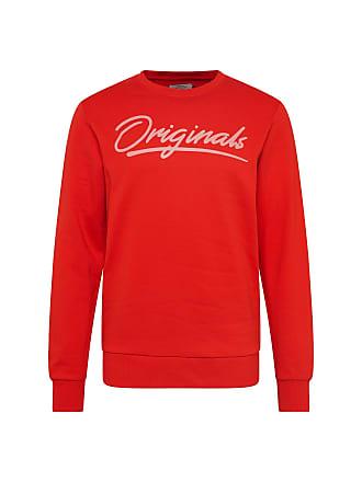 601f749667298b Jack   Jones Sweatshirt JORART EMPIRE SWEAT CREW NECK rot   weiß