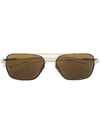 Dita Eyewear Óculos de sol aviador Flight Seven - Marrom
