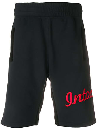 Intoxicated Short de moletom com logo - Preto