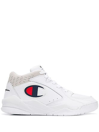Champion side logo hi-top sneakers - White