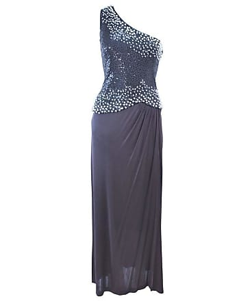 4d317d4a3f2 1stdibs Giorgio Beverly Hills Grey Sequin And Beaded Asymmetrical Design  Size 8