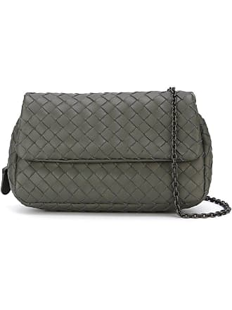 d0ccb1d46d Bottega Veneta light gray Intrecciato nappa medium cesta bag - Grey