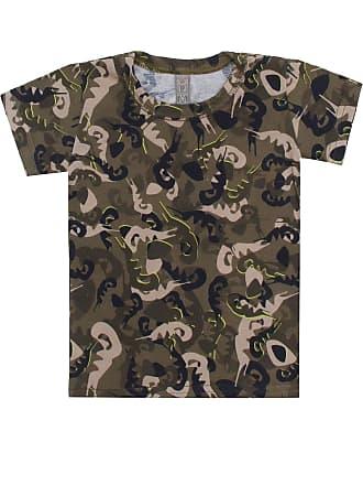 Tigor T. Tigre Camiseta Tigor T. Tigre Manga Curta Bebê Menino Verde