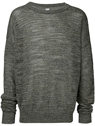E. Tautz Suéter decote careca - Marrom