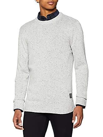 937c5541c442 Scotch   Soda Crewneck Pullover in Wool Blend Quality with Neps