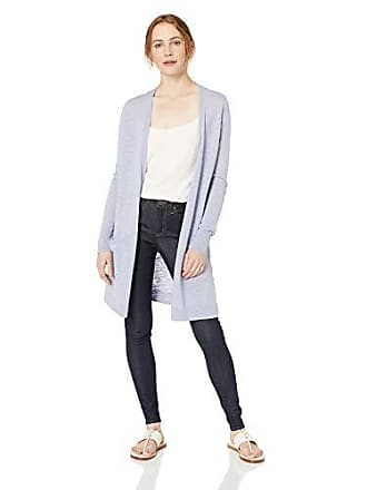 Daily Ritual Womens Lightweight Duster Cardigan, Periwinkle, XX-Large