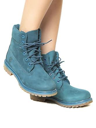 Timberland Bota Timberland Yellow Boot 6 Premium WP W Azul