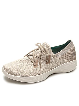 Skechers Tênis Skechers You - Exhale Bege