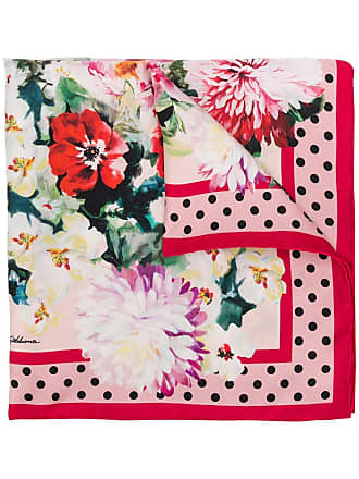 Dolce & Gabbana Lenço floral - Rosa